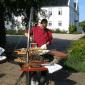Brasero barbecue suspendu BalGrill 1200