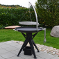 Braséro barbecue charbon Nielsen Balgrill 800
