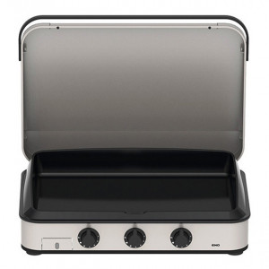 Pack Promo plancha gaz avec capot ENO Enosign 80 inox