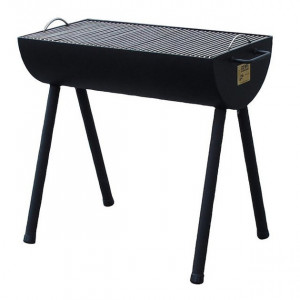 Pack Promo Barbecue brasero à bois Joe's Half Barrel 20""