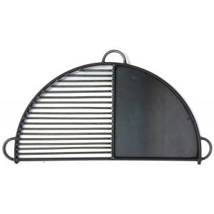 Demi-grille plancha T. Ross pour braséro Firepits 80 cm