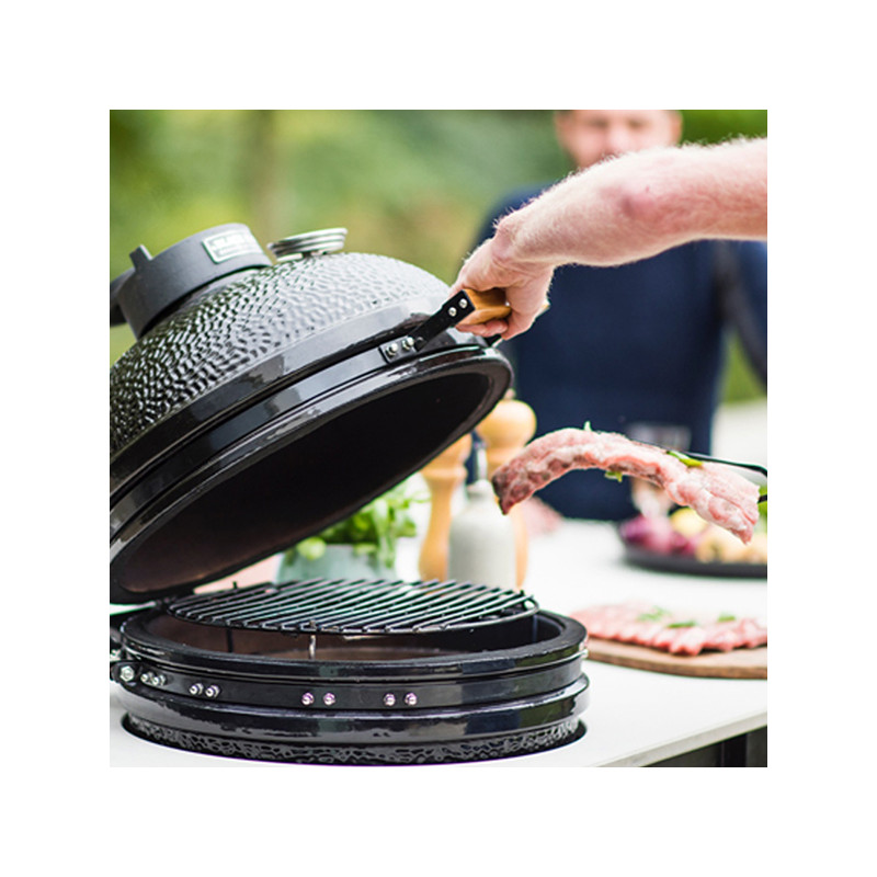 Grille de cuisson en fonte kamado The Bastard Large