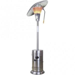 Parasol chauffant gaz directionnel Sahara Luxe Inox