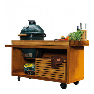 Pack Promo Kamado sur table Big Green Egg L
