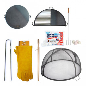 Pack Promo Accessoires pour brasero Timothy Ross 60