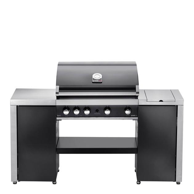 Barbecue gaz Grandhall Premium GT Island 4F ilôt