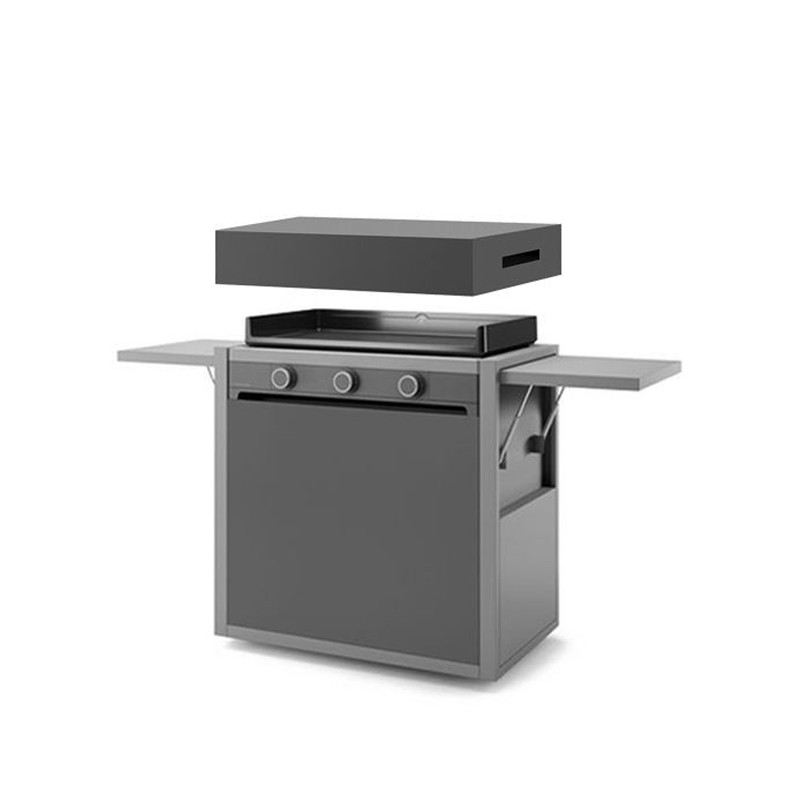 Forge Adour Modern 75 Acier Plancha gaz | Boulanger