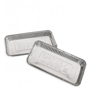 Barquettes barbecue charbon Weber diametre 57 cm aluminium
