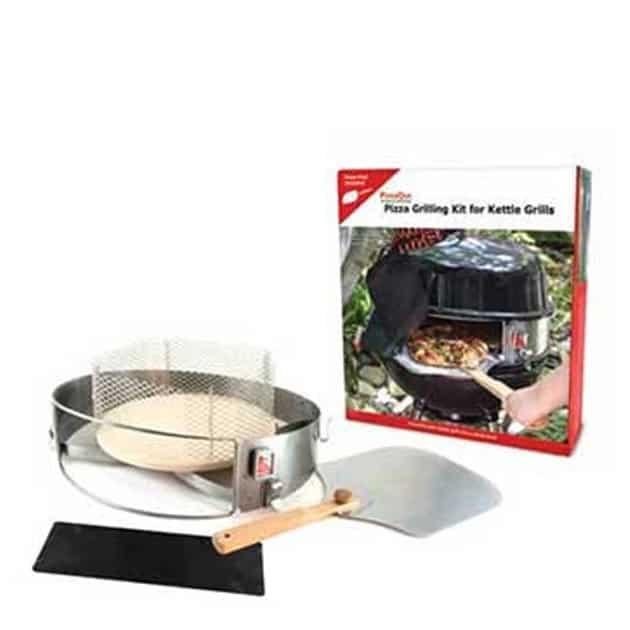 Kit four à pizza barbecue fermé Charcoal Companion 57 cm