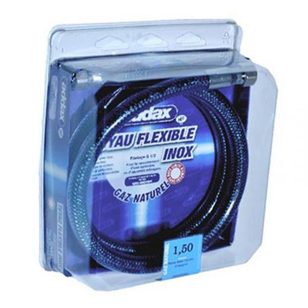 Flexible Addax 1M50 Inox Gaz de Ville