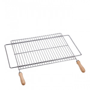 Grille Sauvic extensible barbecue 70/80 x 40 cm