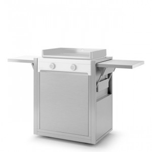 Chariot plancha Forge Adour Modern 60 inox