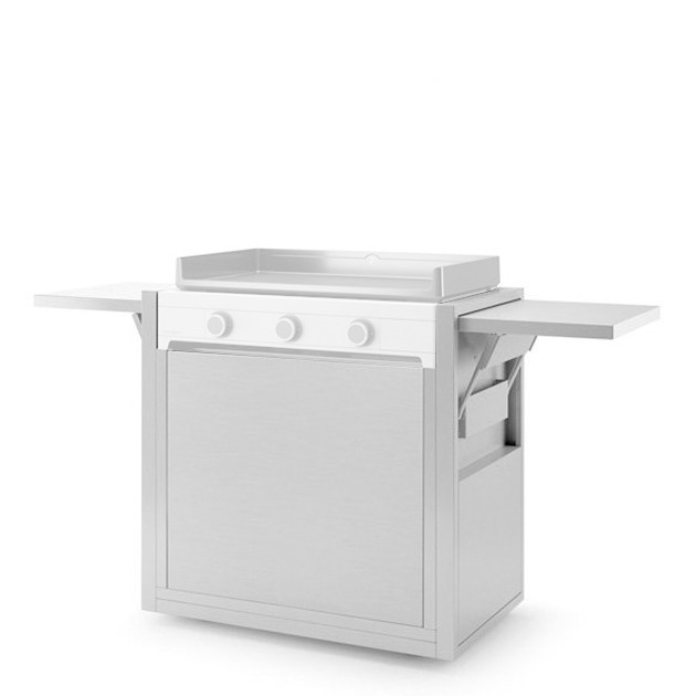 Chariot plancha Forge Adour Modern 75 inox