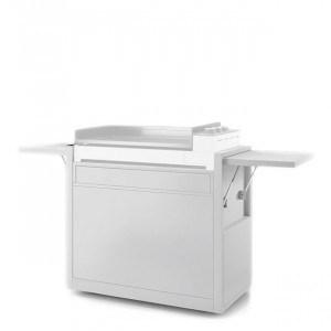 Chariot plancha Forge Adour Premium 75 acier blanc
