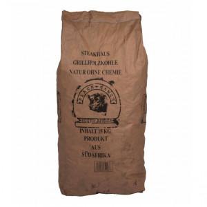 Charbon de bois Acacia d'Afrique du Sud 15 kg Black Ranch