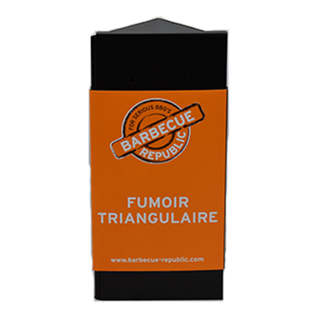 Boîtier de fumage Charcoal Companion triangle