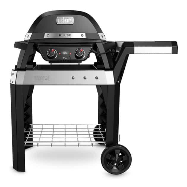 Barbecue électrique WEBER Pulse 2000 noir sur chariot