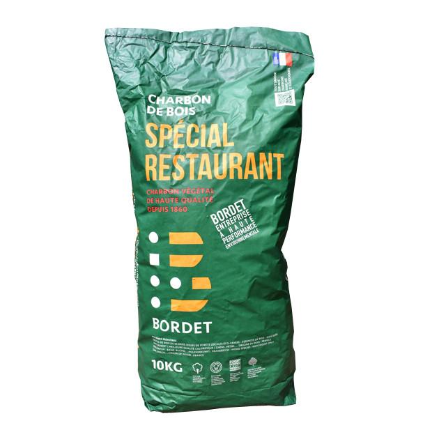 Charbon de bois Bordet special Restaurant 10 kg