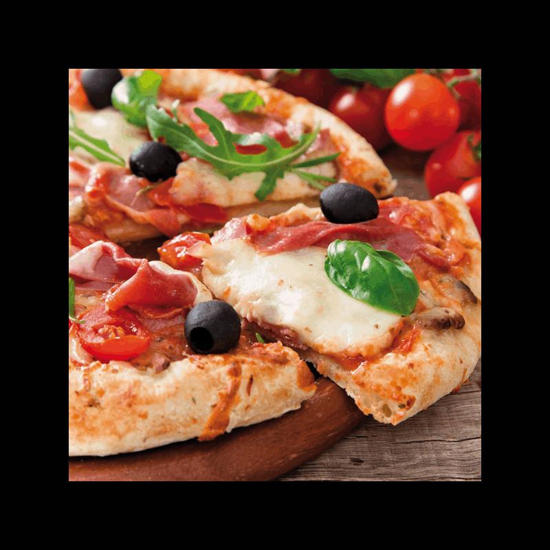 Four à pizza Mexico Trade Center Toscan 52 cm marron