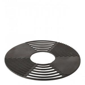 Grille/plaque pour barbecue et braséro Esschert 60 cm fonte