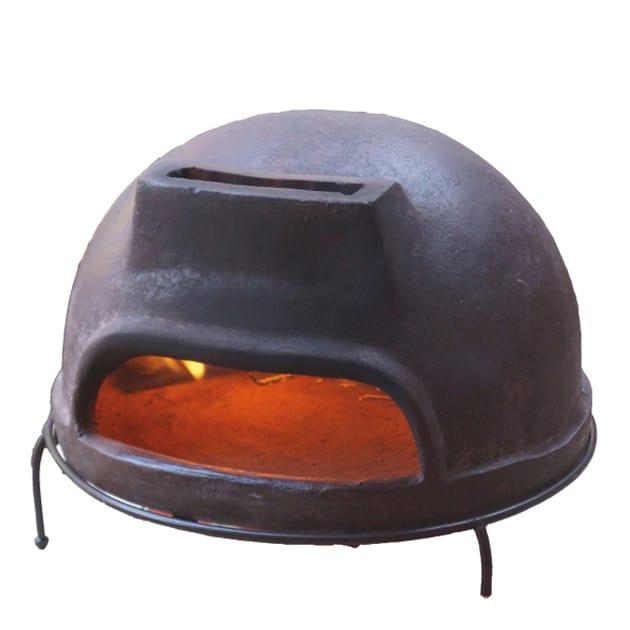 Four à pizza Toscan 52 cm - marron
