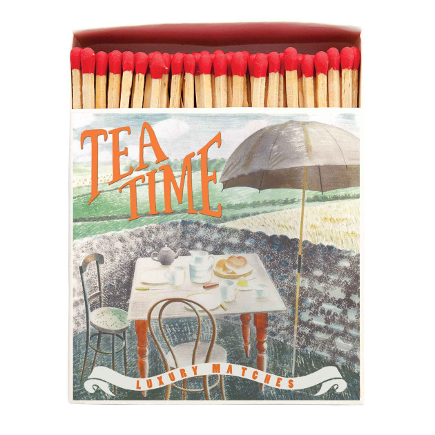 Allumettes Archivist Deluxe Tea Time 11 cm