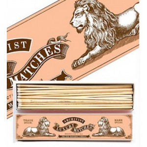 Allumettes Archivist Deluxe 2 Lions 29 cm