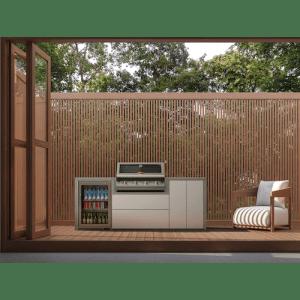 Meuble Fresco pour Signature 4 feux encastrable - Réfrigérateur 1 porte