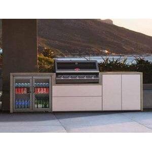 Meuble Fresco Beefeater pour Signature 5 feux encastrable avec frigo double portes