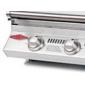 Barbecue gaz encastrable Beefeater Signature 3000S 3 brûleurs et grille inox