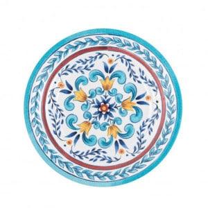 4 assiettes incassables Zani Taormina 21,6cm mélamine