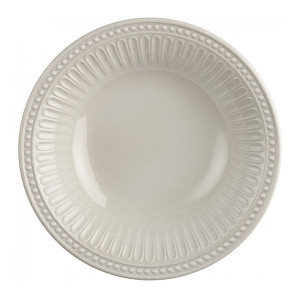 6 assiettes creuses incassables Marine Business Serenity Bone mélamine