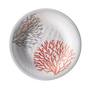 Assiette à dessert incassable Marine Business Harmony Mare Coral 21,5 cm mélamine