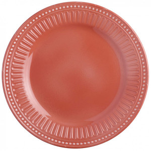 Assiette incassable Marine Business Serenity Coral 27 cm mélamine