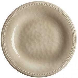 6 assiettes incassables Marine Business Harmony Sand 27cm mélamine