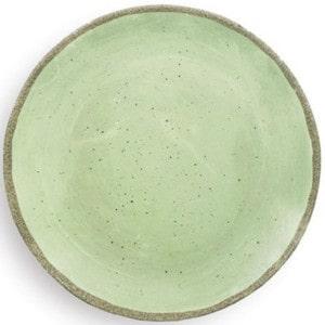 2 assiettes incassables Zani Terrae Verde 26,7cm mélamine