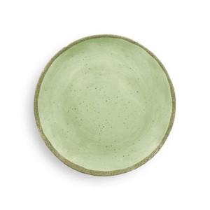 4 assiettes à dessert incassables Zani Terrae Verde 21,6 cm mélamine