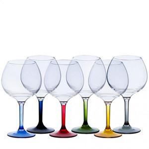 6 verres à ballon incassables Marine Business Base couleur tritan