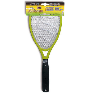 Raquette électronique anti-moustiques Sandokan Squash