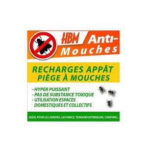 Recharge pour piège à mouches HBM 2L