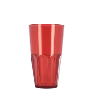 Verre incassable Granity XL 50 cl rouge plexi tritan