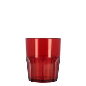 Verre incassable Granity XS rouge plexi tritan