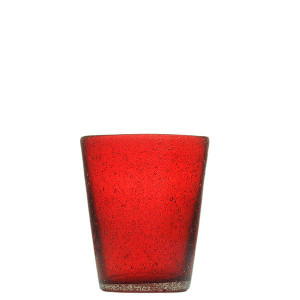 Verre Zani Glass red
