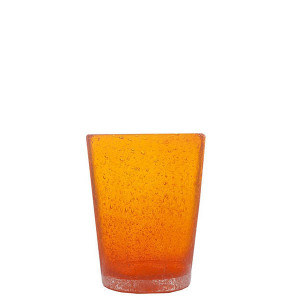 Verre Zani Glass orange