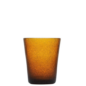 Verre Zani Glass amber