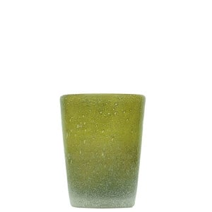 Verre Zani Glass combat green