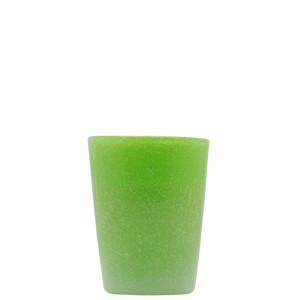 Verre Zani Glass apple