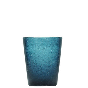 Verre Zani Glass deep blue