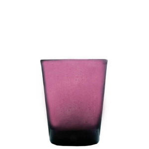 Verre Zani Glass purple