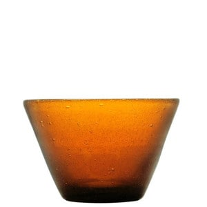 Small bowl Zani amber